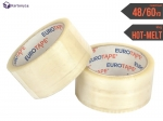 Adhesive tape 60yd - transparent - 6pcs.