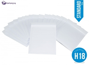 White bubble padded envelopes H18 100pcs.,Standard