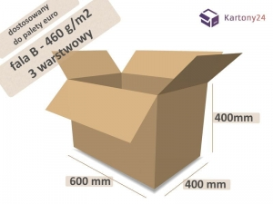 Cardboard box 600x400x400 (external dimension)- 10 pcs. (1)