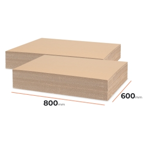 Cardboard divider (sheet) 800x600mm - 120 pcs
