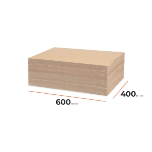 Cardboard divider (sheet) 600x400mm - 80 pcs
