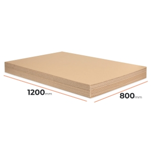 Cardboard divider (sheet) 1200x800mm - 30 pcs