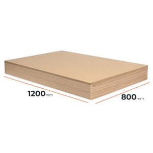 Cardboard divider (sheet) 1200x800mm - 40 pcs