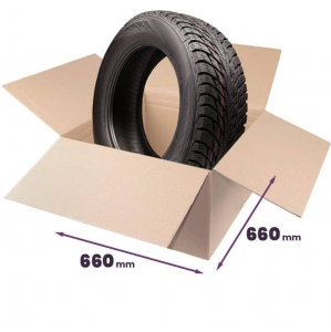 Cardboard boxes for tires 225-315mm - 4 pcs