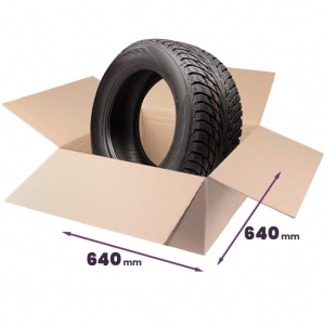 "Cardboard boxes for tires 17""-18"" inch - 4 pcs"
