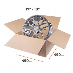 "Cardboard boxes for rims 17""-18"" inch - 4 pcs"