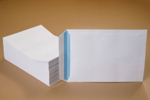 C4 White Self Seal Envelopes - 250 pcs