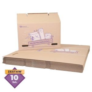 Medium Moving Box - 80L - 10 pcs