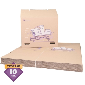 Large Moving Box - 120L - 10 pcs