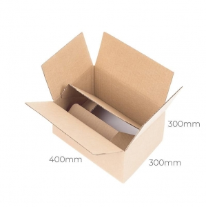 Auto-bottom cardboard box 400x300x300 - 10 pcs