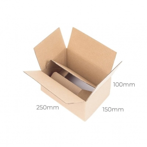Auto-bottom cardboard box 250x150x100 - 10 pcs