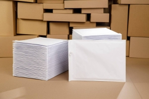 White bubble padded envelopes G17 100pcs., Economy