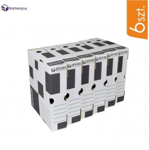 Cardboard transfer cases DATA BOX - 6 pcs