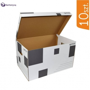 Cardboard archive box DATA BOX - 10 pcs