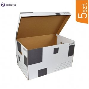 Cardboard archive box DATA BOX - 5 pcs
