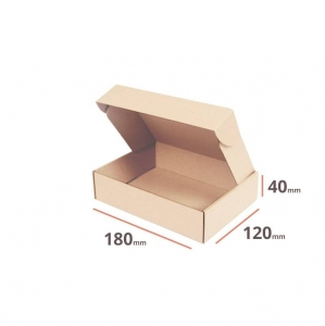 Postal cardboard box 180x120x40mm - 40 pcs
