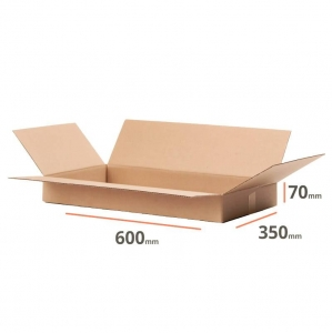 Cardboard box 600x350x70 for packstation - 20 pcs