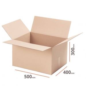 Cardboard box 500x400x300 double wall - 10 pcs