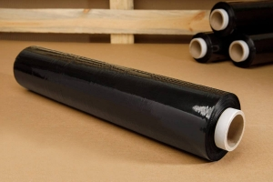 Stretch film - black - 3kg