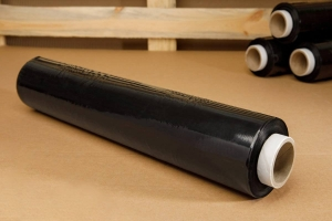 Stretch film - black -  2,5kg