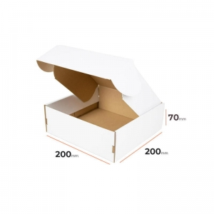White postal cardboard box 310x220x55mm - 40 pcs (1) (1)