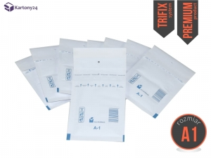 White bubble padded envelopes A1 200pcs., Premium
