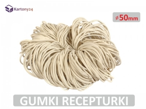 Gumki recepturki 50mm