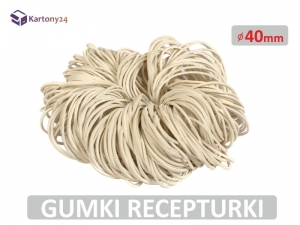 Gumki recepturki 40mm